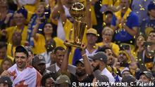 USA Basketball Golden State Warriors holen NBA-Titel