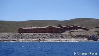 Εξωτερική άποψη των φυλακών της Γυάρου
