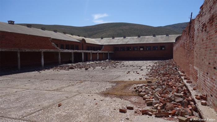 Griechenland ehemalige Internierungsanlage auf der Insel Jaros