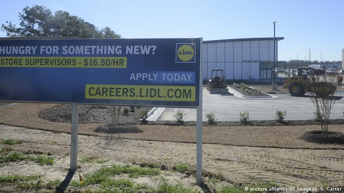 Lidl building site in US (picture alliance/AP Images/J. S. Carter)