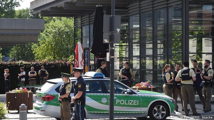 München Unterföhring Mehrere Verletzte bei Schießerei