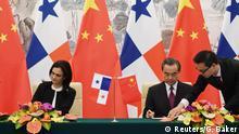 Peking China und Panama nehmen diplomatische Beziehungen auf