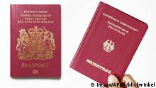 German and British passports