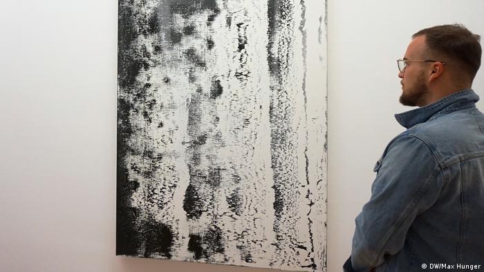 Rakel-Bild Decke von Gerhard Richter aus dem Jahr 1988 (Richter: DW/Max Hunger)