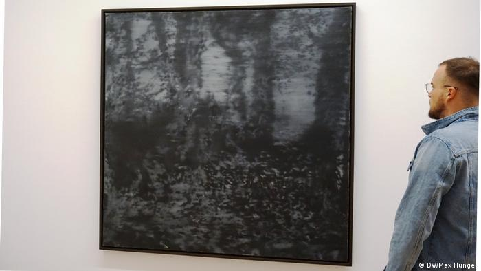 Waldstück von Gerhard Richter aus dem Jahr 1965 (Foto: DW/Max Hunger)