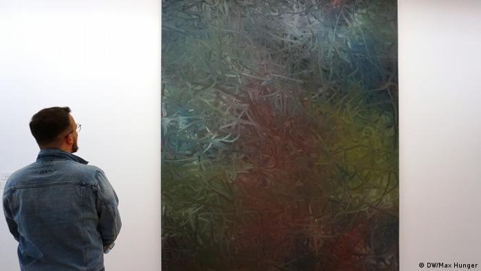 Gemälde Gelb-Rot-Blau von Gerhard Richter von 1988 (Foto: DW/Max Hunger)