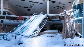 Εγκατελειμμένο εμπορικό κέντρο στην πολιτεία Κάνσας (Φωτό: Σεφ Λόλες)
