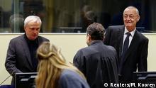 Den Haag Internationaler Gerichtshof Prozess Franko Simatovic und Jovica Stanisic