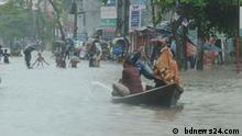 Bangladesch water logging at Dhaka, Chittagong