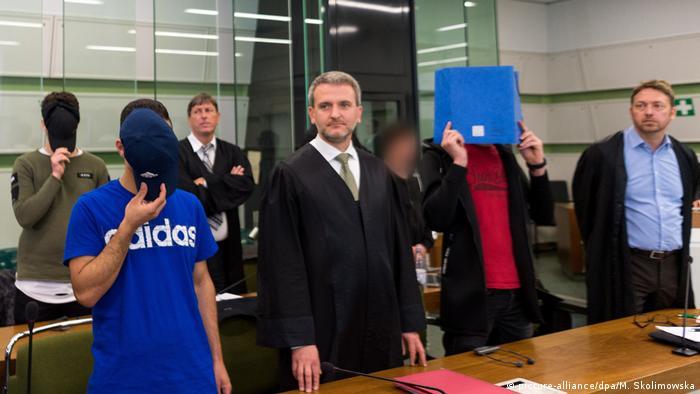 Berlin Obdachloser angezündet - Urteil erwartet