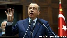 Türkei Präsident Erdogan Rede Parteitag AKP