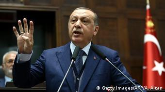Ο τούρκος πρόεδρος Ερντογάν επιτέθηκε με σφοδρότητα στην τουρκική αντιπολίτευση