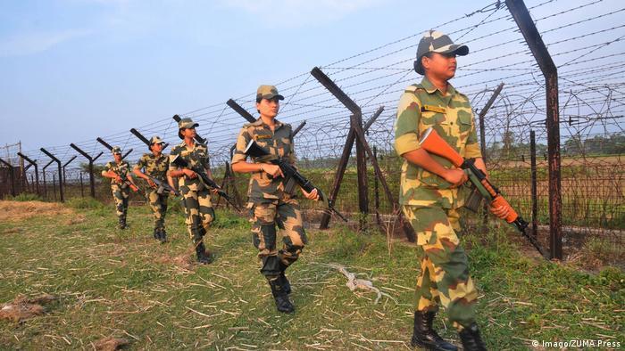 October 27 2016 Petrapole Border India Bangladesh Border India Indian Border Security Force