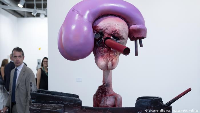 Art Basel 2017 Captain Dick Hat von Paul McCarthy