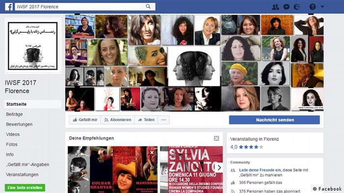 Screenshot Facebook IWSF 2017 Florence (Facebook)