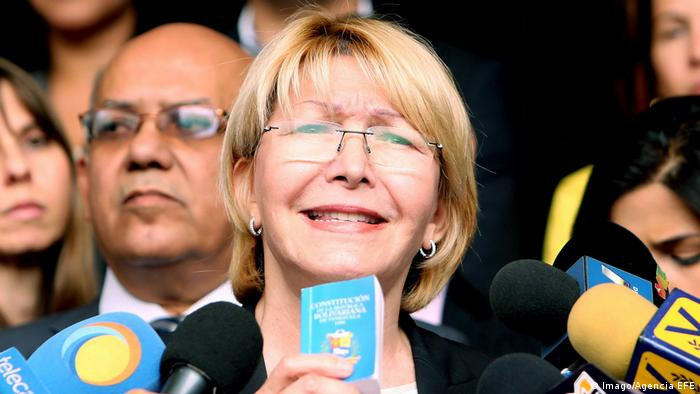 Venezuela Generalstaatsanwältin Luisa Ortega Diaz (Imago/Agencia EFE)