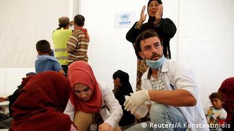 Irak Flüchtlinge Camp Lebensmittevergiftung