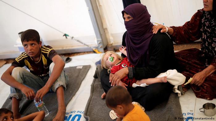 Irak Flüchtlinge Lebensmittelvergiftung
