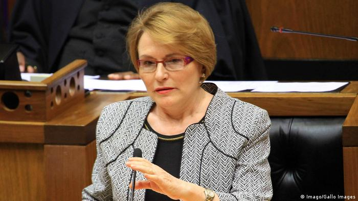 Südafrika Helen Zille Parteichefin Democratic Alliance DA (Imago/Gallo Images)