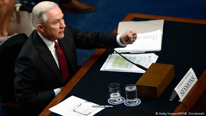 Jeff Sessions USA Anhörung (Getty Images/AFP/B. Smialowski)