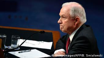 Jeff Sessions US Senate hearing