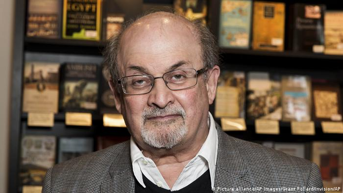 Salman Rushdie (Picture alliance/AP Images/Grant Pollard/Invision/AP)