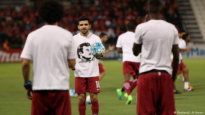 Fußball Katar Mannschaft (Reuters/I. Al Omari)