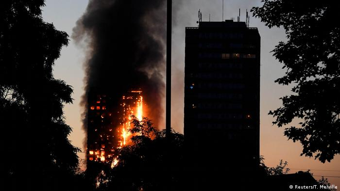 Пожежа в Лондоні