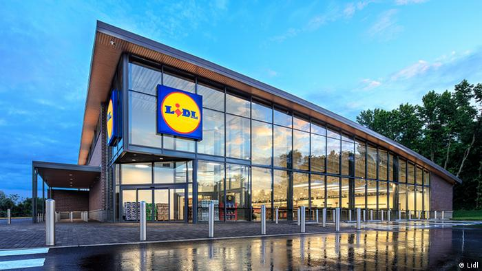 Store des Discounters Lidl in den USA (Lidl)