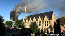 Großbritannien Großbrand in Londoner Hochhaus