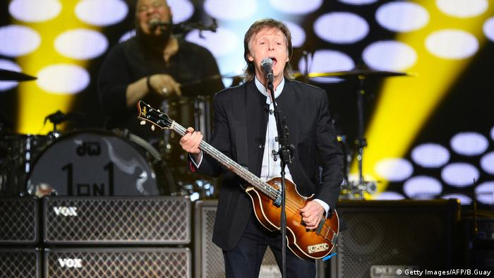 Paul McCartney live (Getty Images/AFP/B.Guay)
