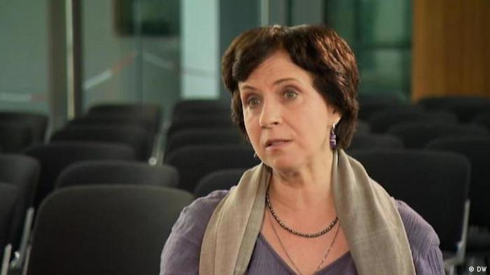 Screenshot DW Interview Zoya Svetova