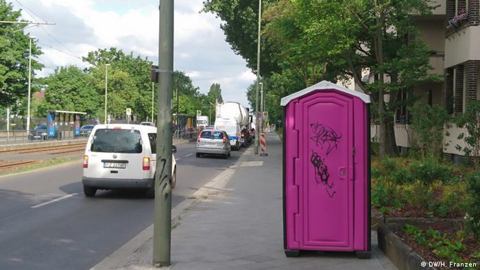Deutschland Fahrradwege und Straßen in Berlin