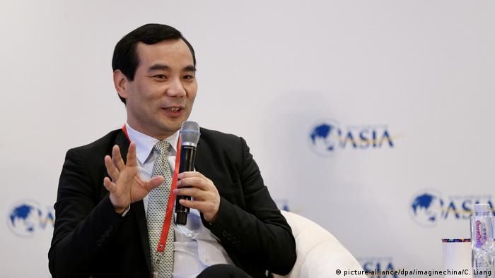China Wu Xiaohui Anbang CEO (picture-alliance/dpa/imaginechina/C. Liang)