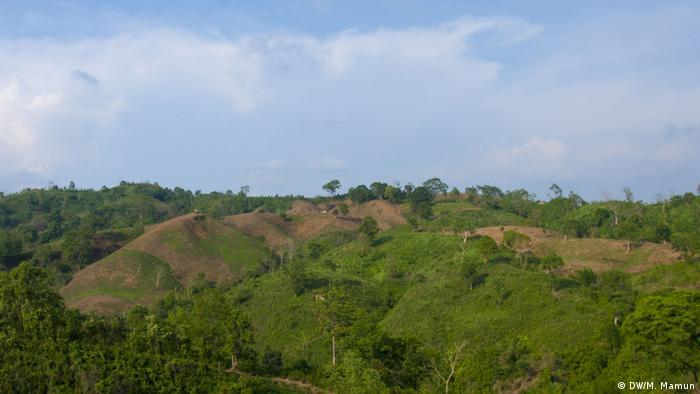 Bangladesch Jhum Kultur (DW/M. Mamun)