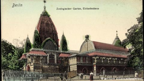 Elephant House at Berlin's Zoological Garten, which opened on August 1, 1844. (Photo: picture alliance/dpa/arkivi)