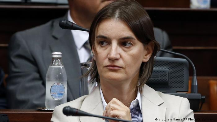 Serbien Ana Brnabic (picture-alliance/AP Photo/D. Vojinovic)