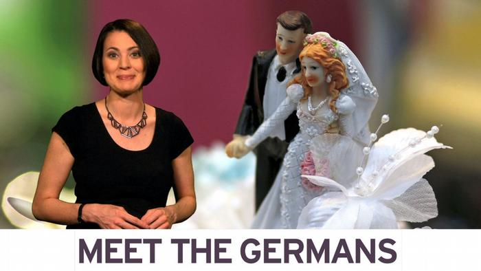 Meet the Germans with Kate: wedding traditions in Germany (Foto: DW)