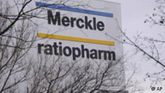 Arzneimittelhersteller Ratiopharm Adolf Merckle