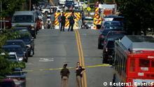 USA Schüsse auf Kongressabgeordnete in Alexandria, Virginia