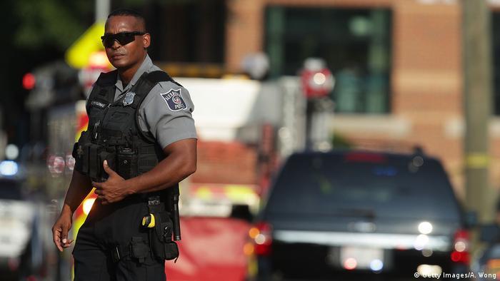 USA Schüsse auf Kongressabgeordnete in Alexandria, Virginia (Getty Images/A. Wong)