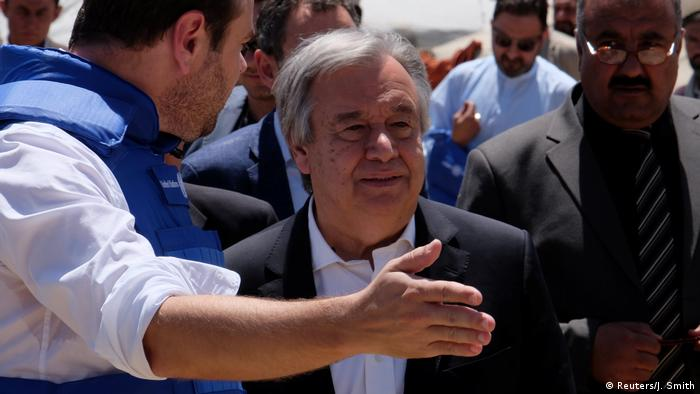 Afghanistan UN-Chef Guterres in Kabul (Reuters/J. Smith)