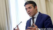 Griechenland Mazedonien Treffen der Außenminister in Athen
