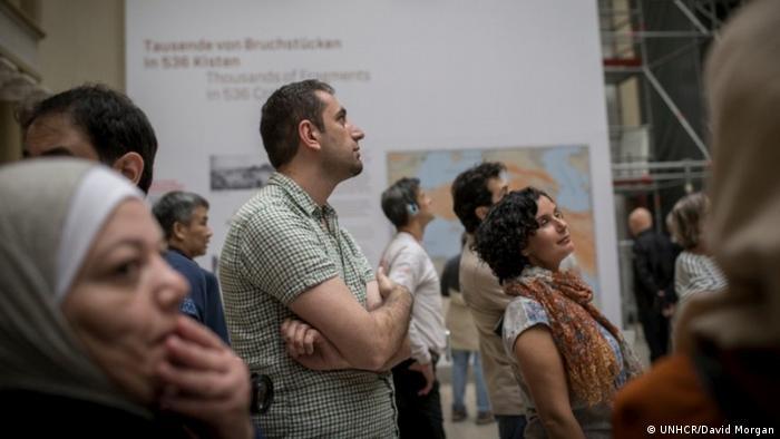 Berlin Museum für Islamische Kunst | Führung für Flüchtlinge (UNHCR/David Morgan)