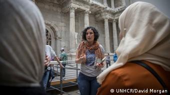 Berlin Museum für Islamische Kunst   Führung für Flüchtlinge