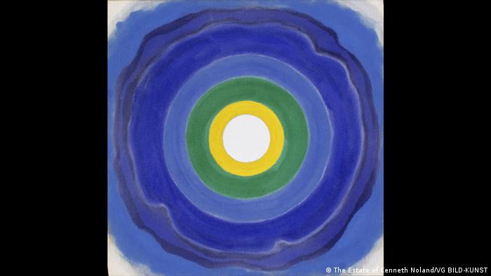 Kenneth Noland: 'April' (1960) (The Estate of Kenneth Noland/VG BILD-KUNST)