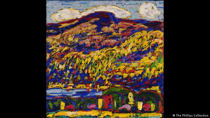 Marsden Hartley: 'Mountain Lake -Autumn, 1910' (The Phillips Collection)