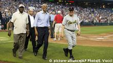 USA Congressional Baseball Game 2015 | Präsident Barack Obama