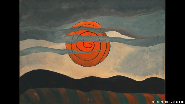 Arthur Dove: 'Red Sun' (1935) (The Phillips Collection)