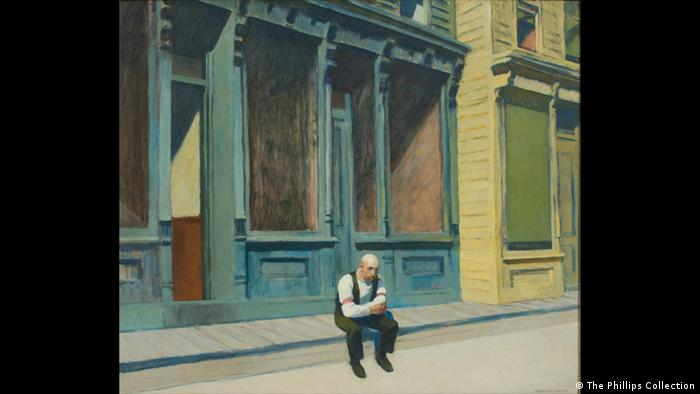 Edward Hopper: 'Sunday' (1926) (The Phillips Collection)